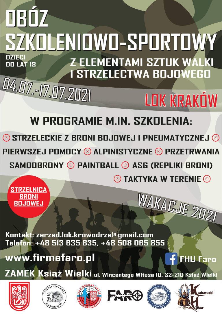 Obóz Wakacyjny 2021 - Szkoleniowo Sportowy